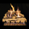 "24"" Split Oak Designer Plus Vented Log Set / G46 ANSI Certified Burner - Peterson Real Fyre"