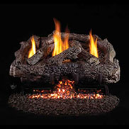 Peterson Vent Free G10 Stainless Steel Log And Burner Sets