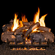 Peterson Vented G31 Three Tier Log And Burner Sets