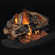Peterson Vented G45 See-Thru Log And Burner Sets