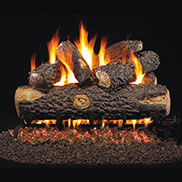 Peterson Vented G45 SS Log And Burner Sets
