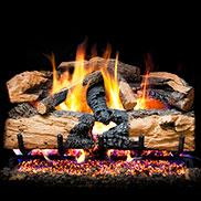 Peterson Vented G52 Radiant Log And Burner Sets